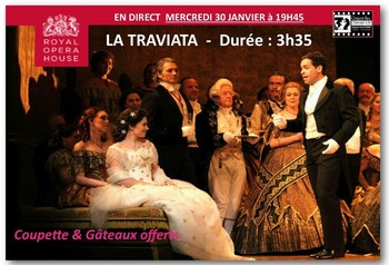 ROYAL OPERA  en direct  - LA TRAVIATA